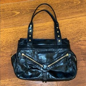Botkier Moto Trigger Leather bag with Gold Metal